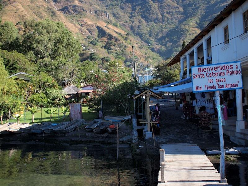Santa Cataria Palopó Lake Atitlán