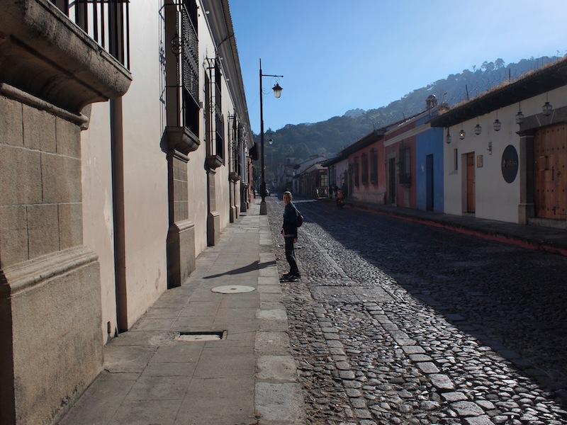 Elle in Antigua Guatemala