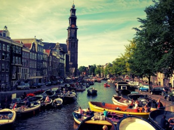 Amsterdam Jordaan Westerkerk