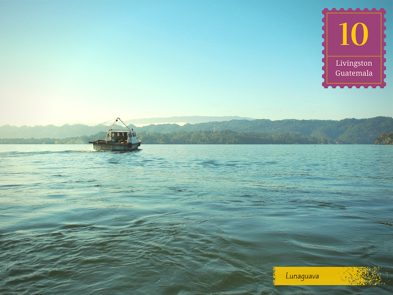 Livingston Guatemala postcard