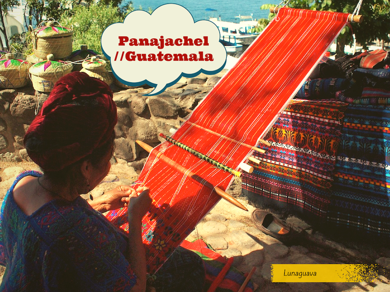 Panajachel Guatemala postcard