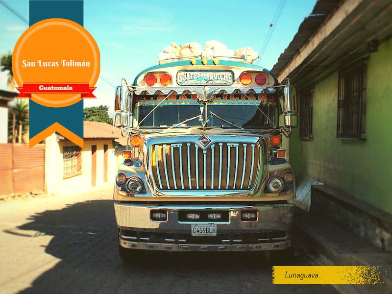 San Lucas Toliman Guatemala postcard