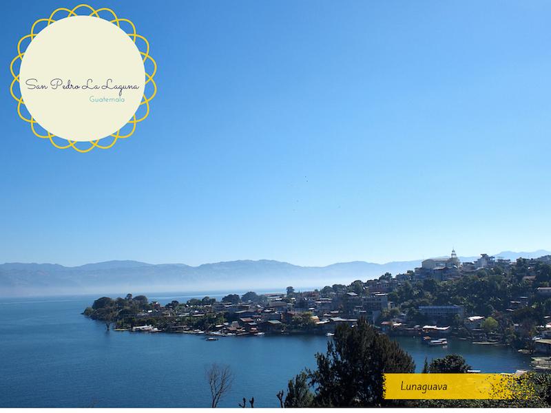 San Pedro la Laguna Guatemala postcard