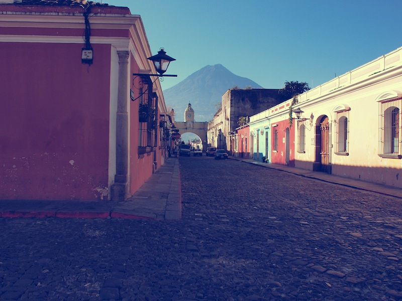 Volcán de Agua Antigua